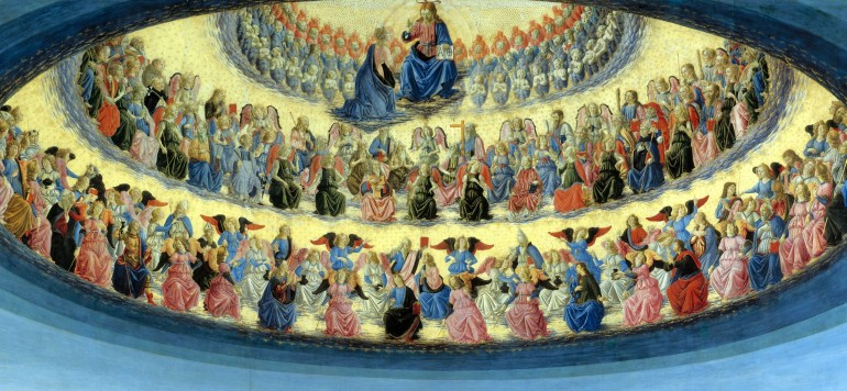 Full title: The Assumption of the Virgin Artist: Francesco Botticini Date made: probably about 1475-6